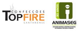 Logo da Top fire Confecções