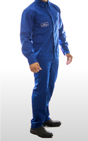 Conjunto eletricista NR10 azul